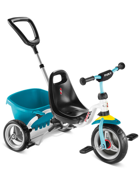 Tricycle Puky CAT 1S - Blanc/Menthe